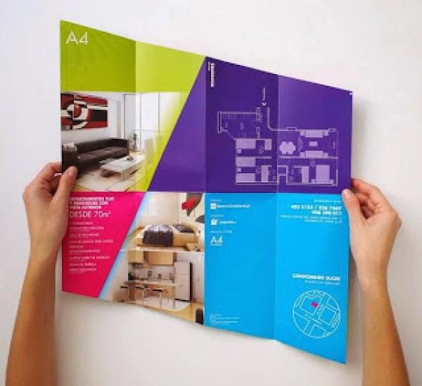 Contoh desain brosur desain kreatif - Real Estate Company 7
