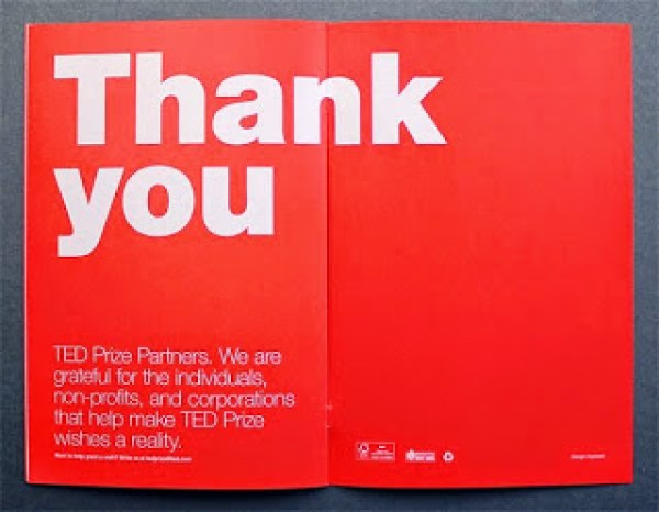 Contoh desain brosur desain kreatif - TED Creative Brochure design Ideas 06