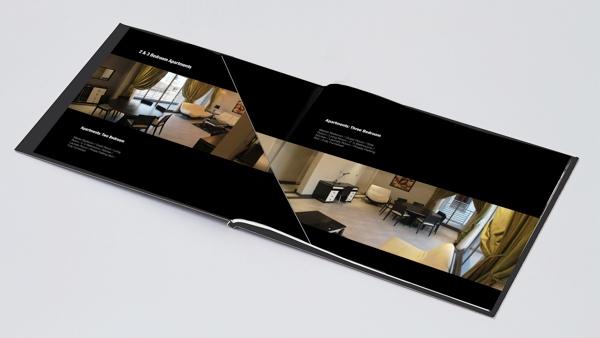 Desain brosur real estate inspiratif