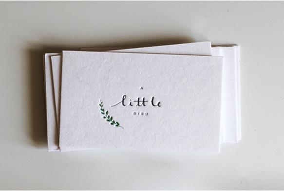 Gambar Desain Kartu Nama Terbaru - Gambar-Contoh-Desain-Kartu-Nama-A-Little-Bird-by-Belinda-Love-Lee