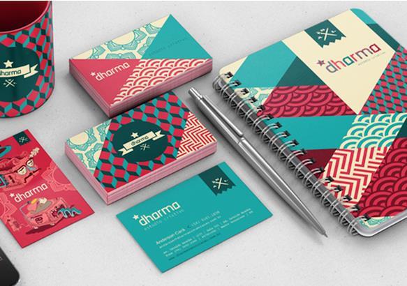Gambar Desain Kartu Nama Terbaru - Gambar Contoh Desain Kartu Nama - Self Branding by Estudio Dharma