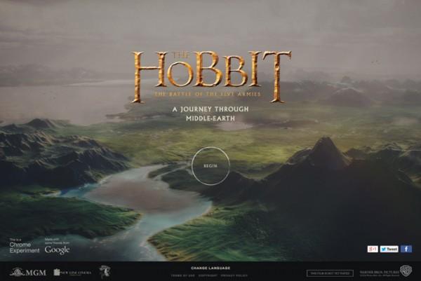Website Desain Terbaik 2014 - Desain-Website-Terbaik-2014-A-Journey-Through-Middle-Earth