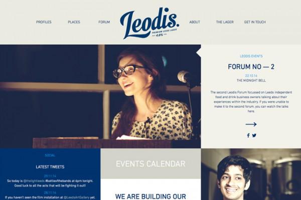 Website Desain Terbaik 2014 - Desain Website Terbaik 2014 - Leodis