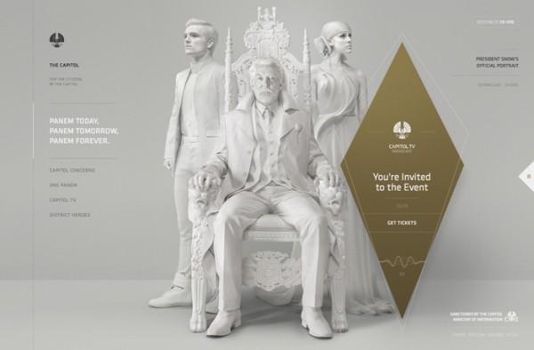 Website Desain Terbaik 2014 - Desain Website Terbaik 2014 - The Capitol