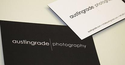 19 Desain Kartu Nama Ini Akan Menginspirasi Anda - Contoh-Gambar-Kartu-Nama-Inspiratif-Austingrade-Photography
