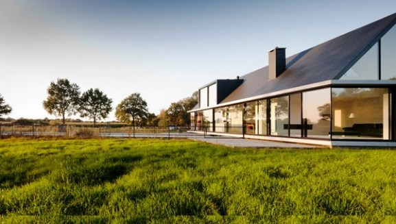 Tips Merenovasi Rumah Menjadi Type Minimalis - Beautiful-minimalist-family-home-with-intriguing-architecture-details