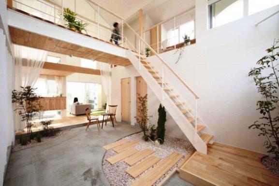 Tips Merenovasi Rumah Menjadi Type Minimalis - Charming-japanese-home-blurring-indooroutdoor-boundaries-kofunaki-house