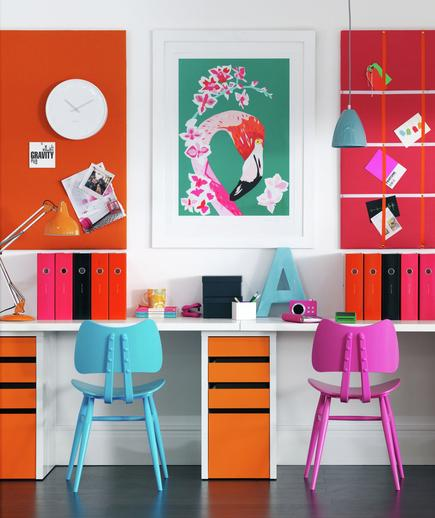 7 Tips Mendesain Kantor di Rumah - Interior kantor rumah - Color Story