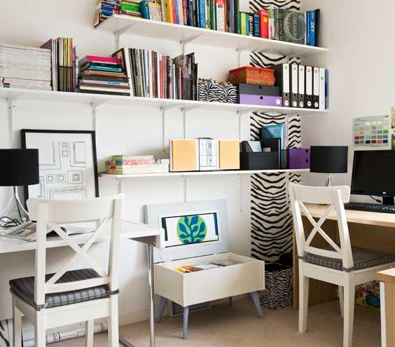 7 Tips Mendesain Kantor di Rumah - Interior kantor rumah - Office Space