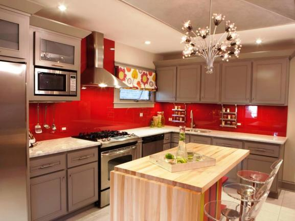 Menentukan Warna Cat Dapur Rumah - Kitchen Final