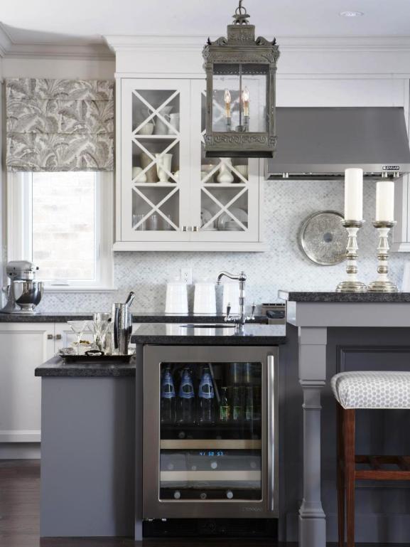 Menentukan Warna Cat Dapur Rumah - Kitchen Multi Level Island