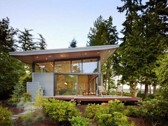 Tips Merenovasi Rumah Menjadi Type Minimalis - Sustainable-glass-home-in-usa-opening-up-towards-a-perfect-landscape
