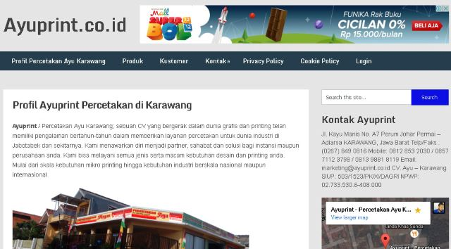 Web company profile dan fungsinya