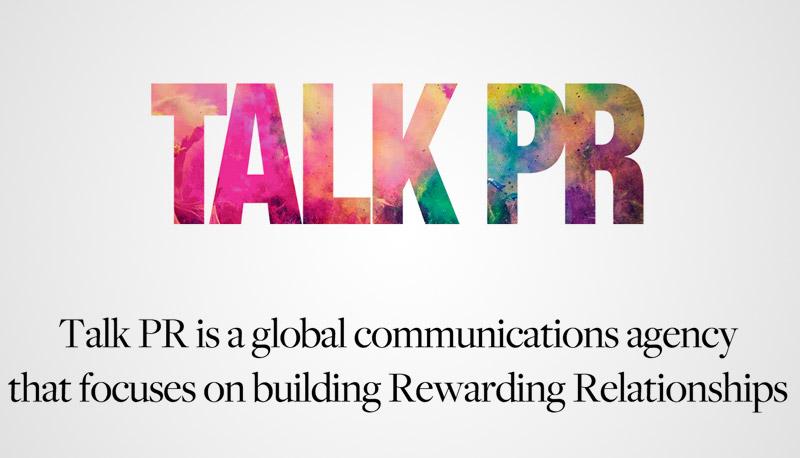 Website dengan Tipografi Keren - Talk PR