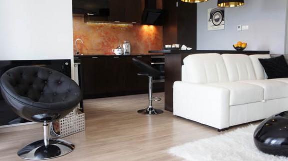 Tips Interior Apartemen Solusi Perbaiki Retak Tembok - Interior Design Narrow Room Apartement 05