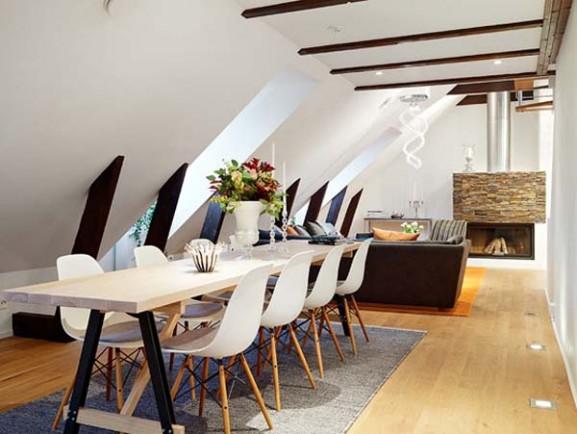 Tips Interior Apartemen Solusi Perbaiki Retak Tembok - Interior Design Narrow Room Apartement 10