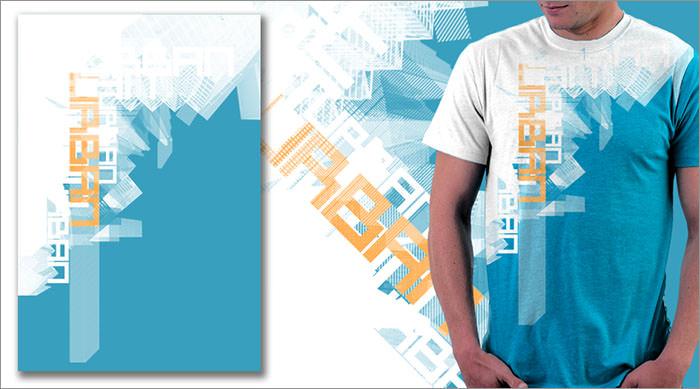 Desain Kaos Keren Free Download Template Inspiratif dan Cantik