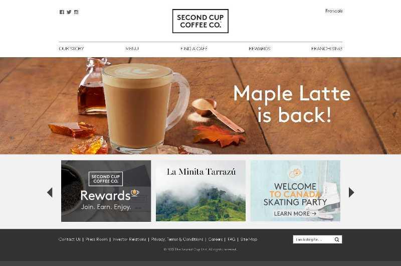 Website Bertema Kopi yang Bikin Mata Melek