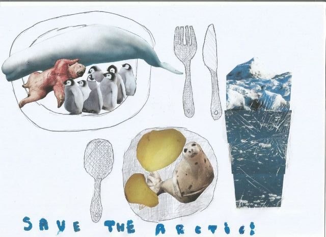 Poster Lingkungan Save The Arctic