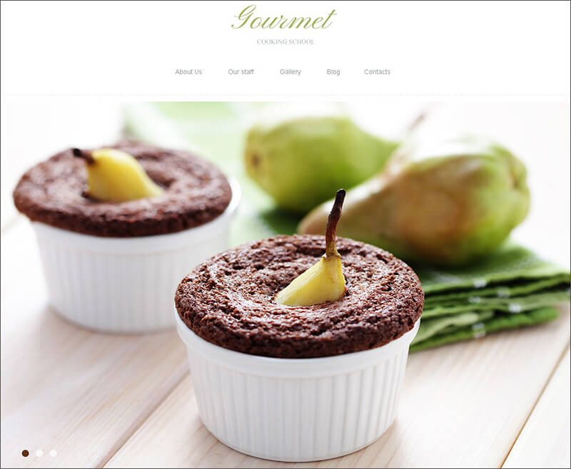 Template Theme Blog Resep Masakan