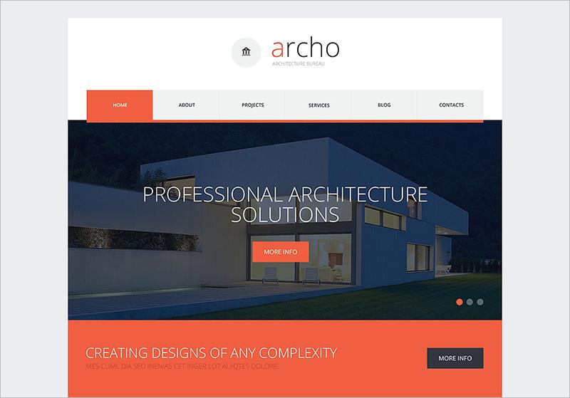 Template HTML Website Perusahaan Konstruksi
