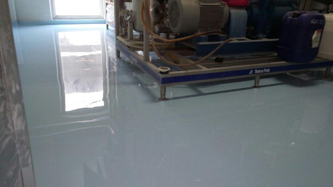 Epoxy lantai bisa memperindah lantai bangunan