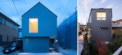 Bangunan dengan arsitektur bergaya modern di Jepang