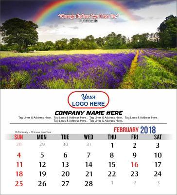 2018 Desktop Indonesia Calendar Motivational Quotes Free Download