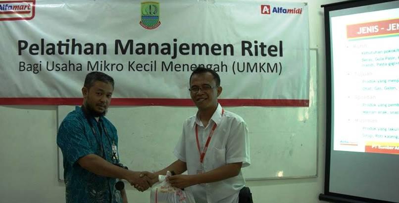 Pelatihan Manajemen Ritel bagi UMKM