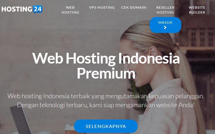 Web Hosting Indonesia Premium