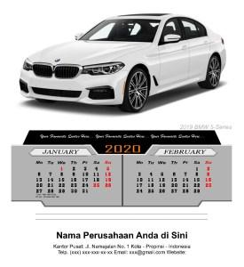 2020 Desktop Calendar Luxury Cars