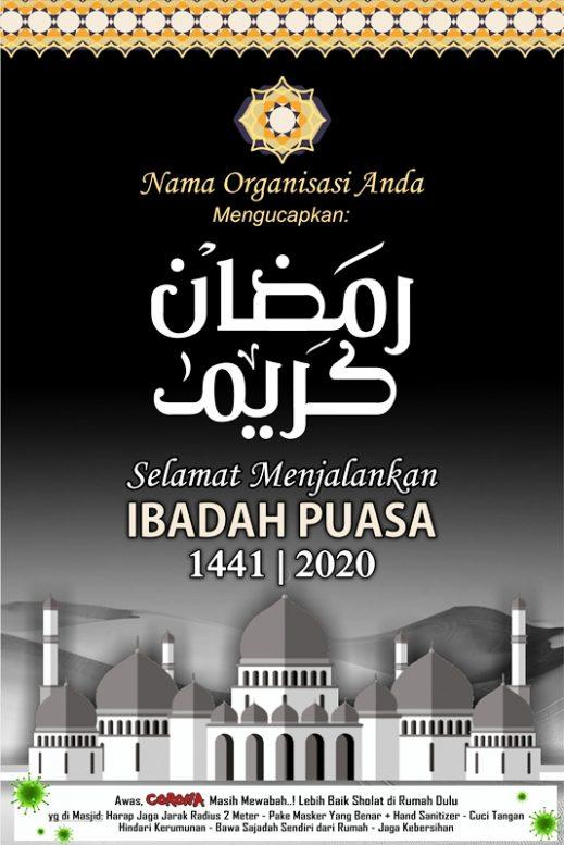 7 Desain Banner Menyambut Ramadhan 2020 1441 Hijriyah Free Download