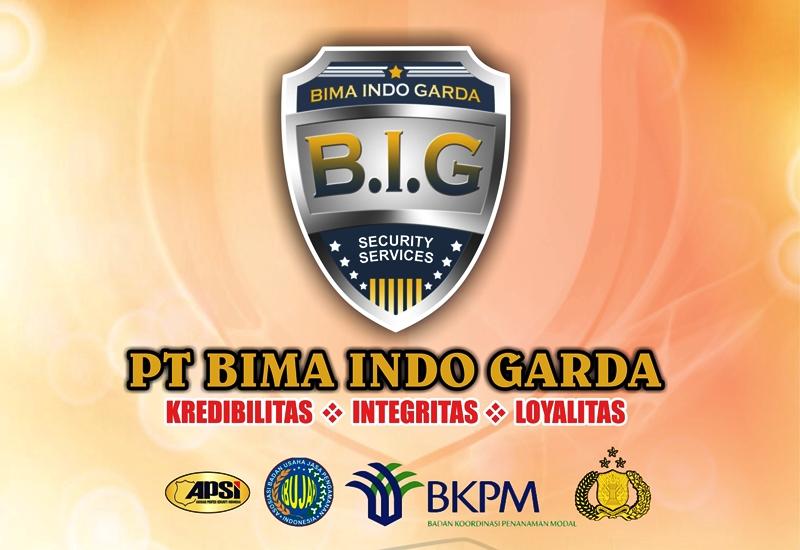 Company Profile Security Service PT Bima Indo Garda Bekasi