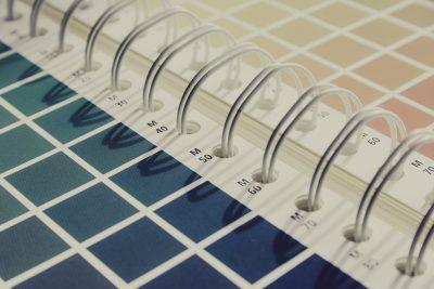 cmyk, color, color fan