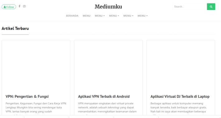 Download Mediumku dari mastekno.com