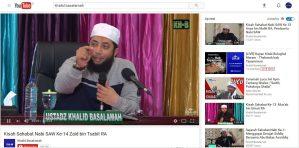 DR Khalid Basalamah Biodata Youtube