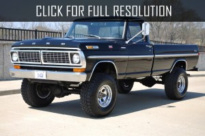 1970 Ford F100 4x4  news, reviews, msrp, ratings with