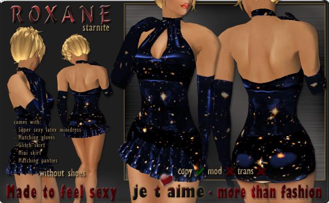 Supersexy Latex Minidress *Roxane* starnite