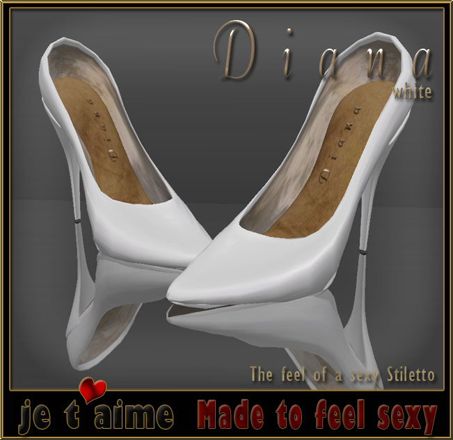 Sexy and elegant: Je taime Pumps Stiletto white