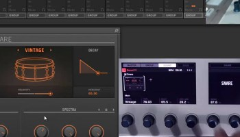 Maschine 2 0 Understanding the kick drum synth module