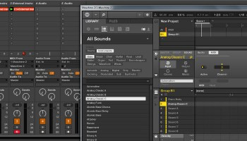 How to configure Maschine as a midi controller for Ableton