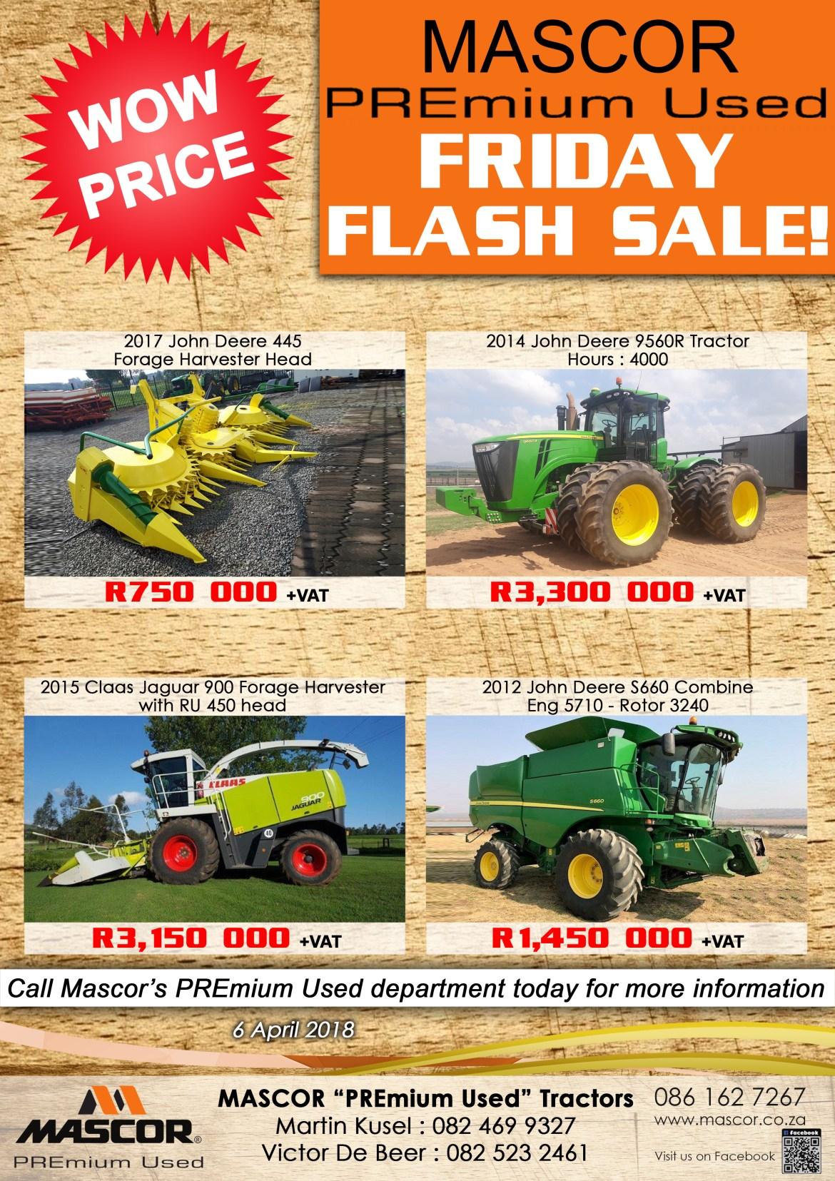 Mascor Premium Used - Friday Flash Sale