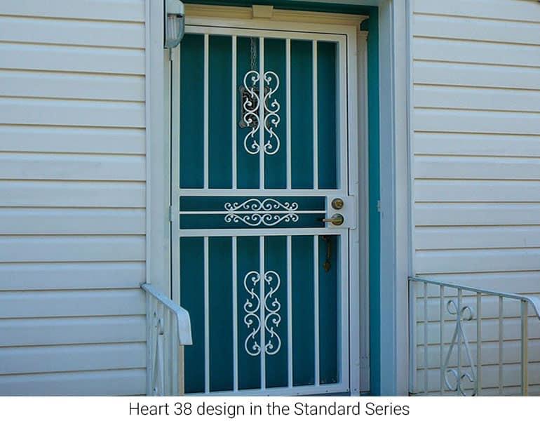 storm security doors and window
