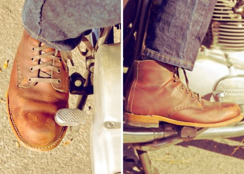 wolverine thousand mile motorcycle boots