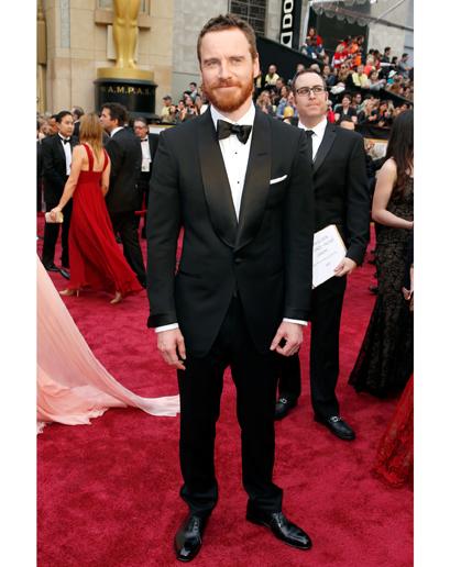 Michael Fassbender 2014 Oscars Red Carpet