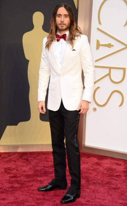 Jared Leto 2014 Oscars Red Carpet