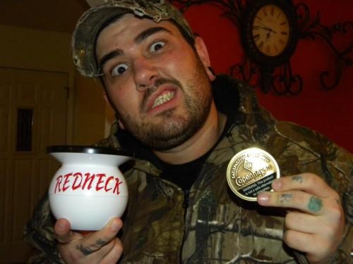 Camo Redneck Mudjug