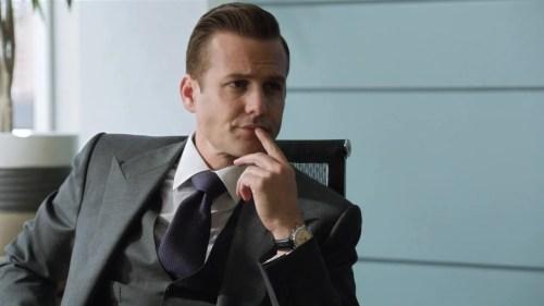 Harvey Specter Hair