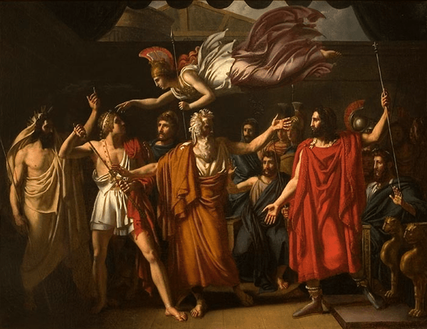 the conflict between agamemnon and achilles in homers the iliad The iliad begins, ends and pivots on the achilles contention between achilles and agamemnon of helen from her husband's house began the conflict.