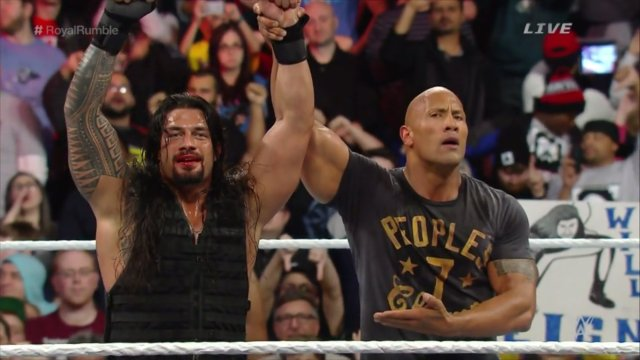 The Rock couldn't believe the boos he was getting.